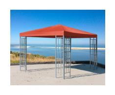 Quick Star Pavillon Rank, BxT: 300x300 cm rot Pavillons Garten Balkon