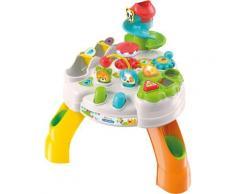 Clementoni Spieltisch Baby Park Activity Table, mit Licht und Sound; Made in Europe bunt Kinder Center Trapeze Kleinkind Spieltische
