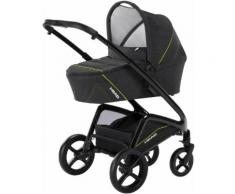 knorr-baby Kombi-Kinderwagen Set, »HEAD, darkgrey-yellow«, Unisex, grey-yellow