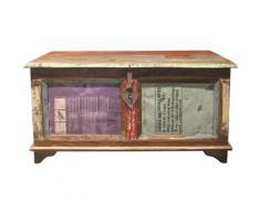 Home affaire Truhe Montreal bunt Holz-Beistelltische Holztische Tische Truhen