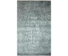 Teppich, Majestik 1400, Sehrazat, rechteckig, Höhe 5 mm, gedruckt grau Moderne Teppiche
