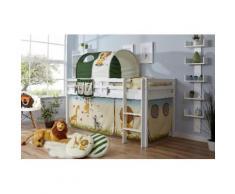 Ticaa Hochbett Rene weiß Kinder Hochbetten Kinderbetten Betten