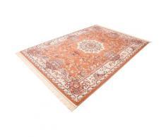 Böing Carpet Teppich Classic 4051, rechteckig, 10 mm Höhe, Orient-Optik, mit Fransen, Wohnzimmer beige Esszimmerteppiche Teppiche nach Räumen