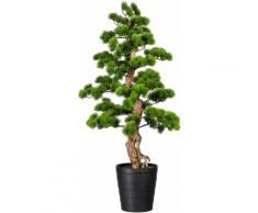 Creativ green Kunstbonsai Bonsai Kiefer (1 Stück) grün Kunstpflanzen Wohnaccessoires