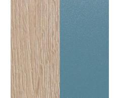 OPTIFIT Küchenzeile Mini, mit E-Geräten, Breite 210 cm EEK B blau Küchenzeilen Geräten -blöcke Küchenmöbel Arbeitsmöbel-Sets