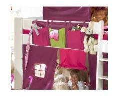 STEENS Spieltunnel FOR KIDS, für die Hochbetten rosa Sandkiste Sandspielzeug Outdoor-Spielzeug