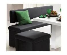 Homexperts Sitzbank, (1 St.), wahlweise mit Rückenlehne schwarz Sitzbank Essbänke Sitzbänke Stühle