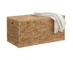 Home affaire Truhe, innen mit Baumwolle bespannt beige Truhe