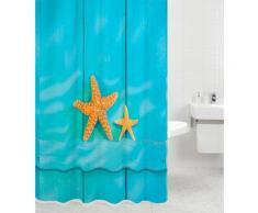 Sanilo Duschvorhang Starfish, Breite 180 cm blau Badmöbel