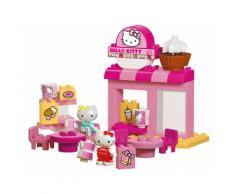 BIG Spielbausteine BIG-Bloxx Hello Kitty Café, (45 St.) rosa Kinder Bausteine Bausätze Bauen Konstruieren