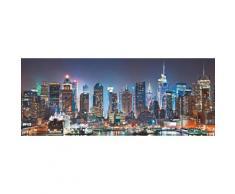 Places of Style Glasbild New York City-Times Square schwarz Glasbilder Bilder Bilderrahmen Wohnaccessoires