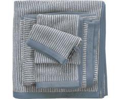 Handtücher Timeless Tone Stripe Marc O'Polo Home, blau, rauchblau