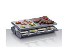 Steba Raclette RC 58, 8 St. Raclettepfännchen, 1200 W schwarz Küchenkleingeräte Haushaltsgeräte