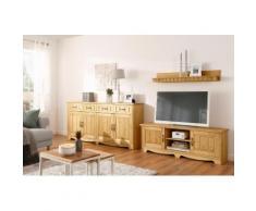 Home affaire Wohnwand Trinidad, (Set, 3 St.), Set aus 1 Wandboard, Sideboard, Lowboard beige Wohnwände