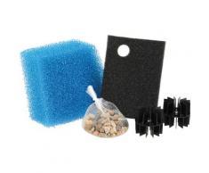 OASE Filtermatte Set UVC 2500-3000 blau Teichzubehör Teiche Garten Balkon
