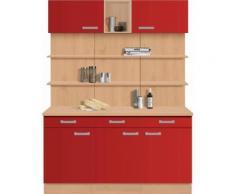 OPTIFIT Küchenbuffet »Odense«, Breite 150 cm, rot, rot