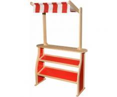 Eichhorn Kaufladen Verkaufstheke mit Dach rot Kinder Ab 3-5 Jahren Altersempfehlung Kaufläden