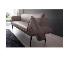 K+W Komfort & Wohnen Polsterbank Drive, mit Seitenteilverstellung zur Sitzplatzerweiterung, wahlweise in 218 oder 238 cm Breite Leder Flachgewebe braun Polsterbänke Sitzbänke Stühle