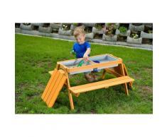 GASPO Kindersitzgruppe Gustav, Picknicktisch, BxTxH: 85x89x48,5 cm beige Kinder Kindermöbel Möbel sofort lieferbar