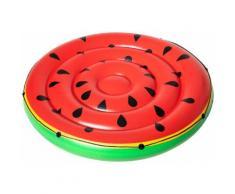 Bestway Badeinsel Wassermelone, ØxH: 173x25 cm rot Wasserspielzeug Pools Planschbecken Garten Balkon