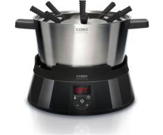 Caso Elektro-Fondue 2282, 8 Fonduegabeln, 2,3 Liter schwarz Fondue Küchenkleingeräte Haushaltsgeräte Fondues