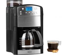 BEEM Kaffeemaschine mit Mahlwerk Fresh-Aroma-Perfect Thermostar, goldfarbener Permanentfilter schwarz Kaffee Espresso SOFORT LIEFERBARE Haushaltsgeräte