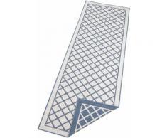 Läufer, Sydney, bougari, rechteckig, Höhe 5 mm, maschinell gewebt blau Küchenläufer Läufer Bettumrandungen Teppiche