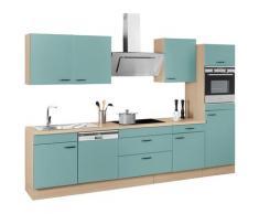 OPTIFIT Küchenzeile ohne E-Geräte »Elga«, Breite 330 cm, grün, lichtgrün/eichefarben
