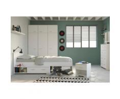 Parisot Jugendzimmer-Set (4-tlg.) »Galaxy«, weiß, Weiß