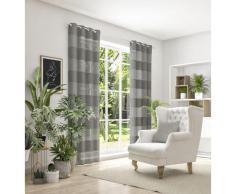 Neutex for you Vorhang SONORA, 3D Musterung im Leinen-Look braun Wohnzimmergardinen Gardinen nach Räumen Vorhänge