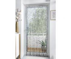 Home affaire Türvorhang »Pearl« Kunststoff, transparent/schwarz, 72 Stränge, bunt