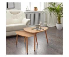 PRO Line Satztisch (Set) beige Beistelltische Tische Tisch