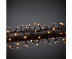 KONSTSMIDE Micro LED Büschellichterkette Cluster schwarz Lichterketten und Lichtschlauch Dekoleuchten Lampen Leuchten
