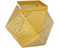 Home affaire Korb Basket Art Gold I, goldfarben, Gold