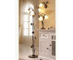 Home affaire Stehlampe Lisanne, E14, 1 St. braun Standleuchten Stehleuchten Lampen Leuchten