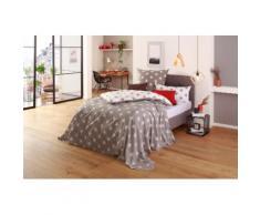my home Tagesdecke Stella, auch als Tischdecke und Sofaüberwurf einsetzbar weiß Tagesdecken Decken
