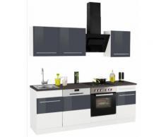 HELD MÖBEL Küchenzeile Trient, ohne E-Geräte, Breite 220 cm weiß Küchenzeilen Geräte -blöcke Küchenmöbel
