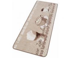 Küchenläufer, LOOP1, HANSE Home, rechteckig, Höhe 8 mm, maschinell getuftet braun Küchenläufer Läufer Bettumrandungen Teppiche