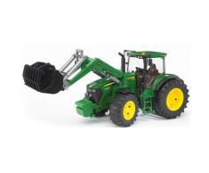 """Bruder Spielzeug-Traktor """"John Deere 7930 mit Frontlader 1:16 grün"""", grün, grün"""