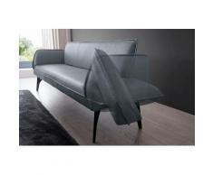 K+W Komfort & Wohnen Polsterbank Drive, mit Seitenteilverstellung zur Sitzplatzerweiterung, wahlweise in 218 oder 238 cm Breite Leder Flachgewebe blau Polsterbänke Sitzbänke Stühle