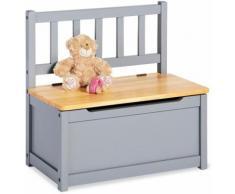 Pinolino Truhenbank Fenna, grau/natur, für Kinder grau Kinderstühle Kindermöbel