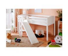Ticaa Hochbett Ekki weiß Betten Möbel mit Aufbauservice