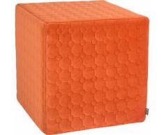 Sitzwürfel, Soft Nobile, H.O.C.K. orange Kinder Sitzkissen Sitzwürfel Hocker Kopfkissen