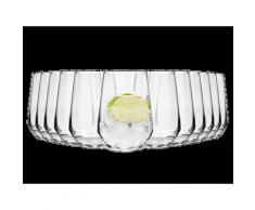 SÄNGER Glas Michelle, (12 tlg., Gläserset Michelle 12 teilig) farblos Wassergläser Saftgläser Gläser Glaswaren Haushaltswaren