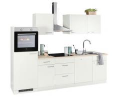 wiho Küchen Küchenzeile Zell, ohne E-Geräte, Breite 280 cm weiß Küchenzeilen Geräte -blöcke Küchenmöbel