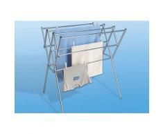 WENKO Wäscheständer silberfarben und Wäschespinnen Wäschepflege Haushaltswaren