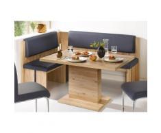 SCHÖSSWENDER Eckbank Bremen, ist umstellbar blau Eckbänke Sitzbänke Stühle