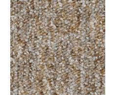 Bodenmeister Teppichboden Schlinge gemustert, rechteckig, 7 mm Höhe, Meterware, Breite 400 cm, Wunschmaßlänge beige Bodenbeläge Bauen Renovieren