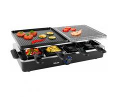 Tristar Raclette RA-2992, 8 Raclettepfännchen, 1400 Watt schwarz Küchenkleingeräte Haushaltsgeräte