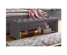 ATLANTIC home collection Bettbank grau Bettbänke Sitzbänke Stühle